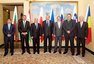 Setkání ministrů rozšířené Visegrádské čtyřky.