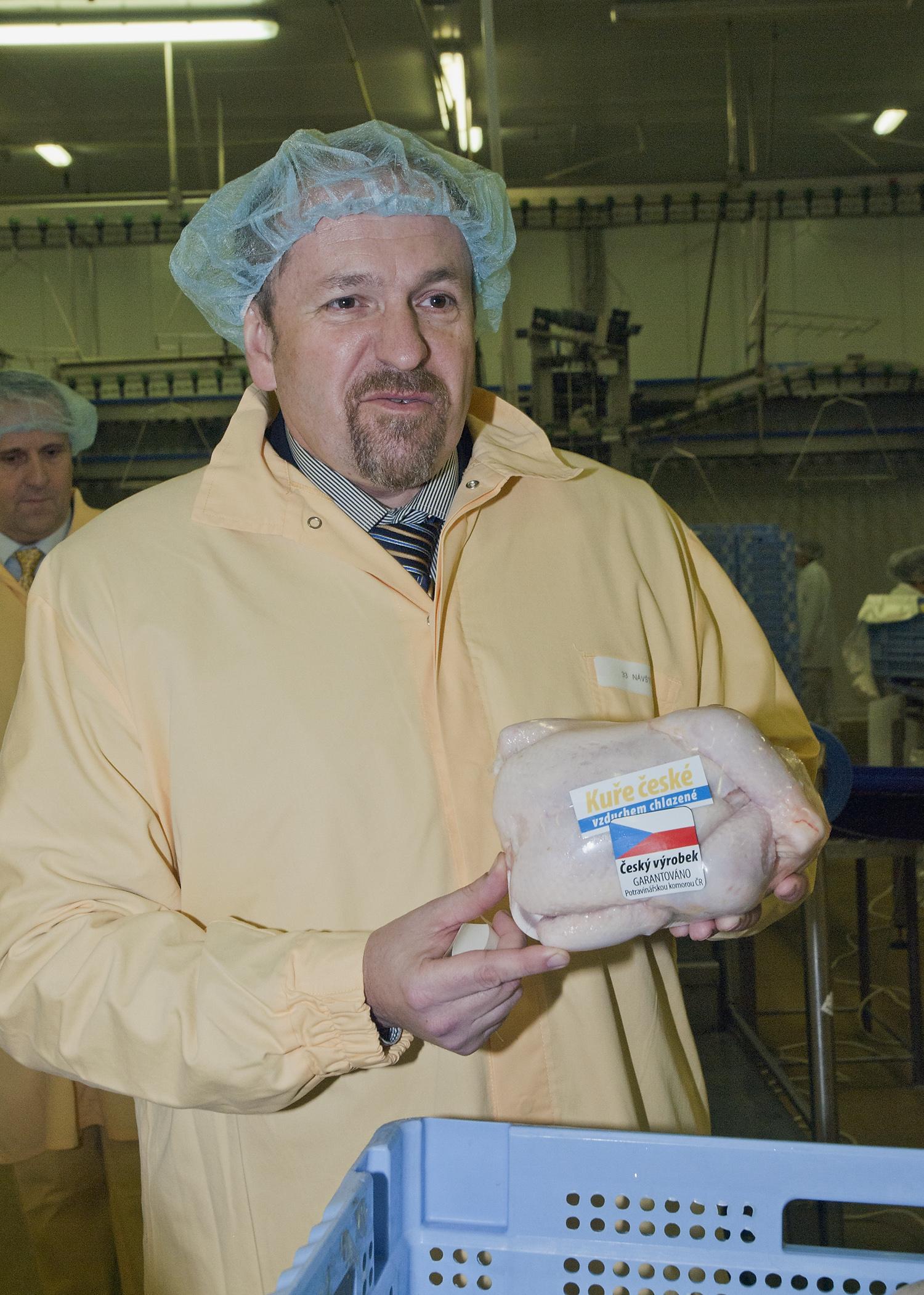 Ministr Fuksa na dni kuřete