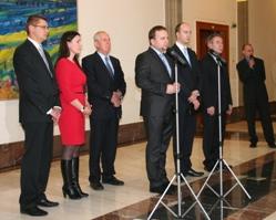 Ministr Jurečka představil nové vedení resortu.